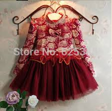 2016 children toddler dress brand floral baby girls dresschristmas dress top designer kids clothes ball gown with sparkling baby girl dress designs