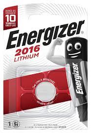 <b>Батарейка Energizer Lithium</b> CR2016 1 шт/бл E301021801 - цена ...