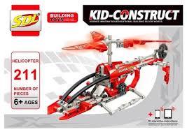 <b>Конструктор Sdl Kid Construct</b> 2018A-1 Вертолет — купить по ...