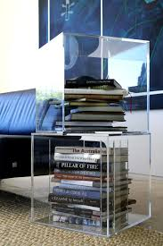 we could make perspex boxes bases for the staging tables and feature student work acrylic perspex furniture