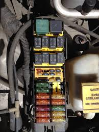 jeep cherokee electrical 1997 2001 xj fuse & relay 1996 Jeep Cherokee Fuel Pump Wiring Diagram fuse relay number 1996 Jeep Cherokee Sport Wiring Diagram