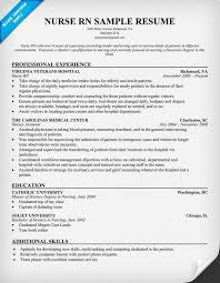 do you want a new nurse rn resume look no further than our huge collection sample of rn resume