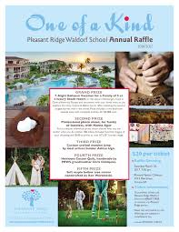 raffle pleasant ridge waldorf school raffle flyer