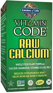 Garden of Life <b>Raw</b> Calcium Supplement - <b>Vitamin Code</b> Whole