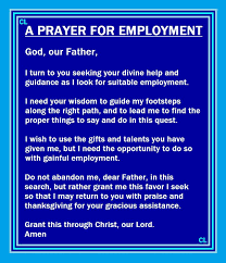 prayer job interview cell phone overload transfers prayers for employment