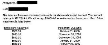 bank_of_america_debt_settlement_letter sample settlement letter