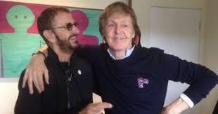 Paul McCartney and Ringo Starr reunite in studio sending Beatles ...
