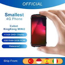 "<b>Cubot KingKong MINI2</b> Rugged Phone 4"" QHD+ Screen <b>Waterproof</b> ..."