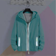 Online Shop S-7XL Jackets Summer <b>Autumn</b> Fashion Hooded Solid ...