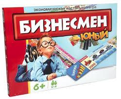 <b>Настольная игра STRATEG</b> Юный бизнесмен — Настольные ...