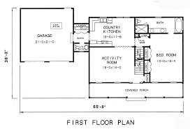 Cape Cod House Plan   Bedrooms and   Baths   Plan st floor plan