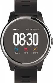 <b>Умные часы Geozon</b> G-SM01BLKB <b>Vita</b> Plus, черный, синий