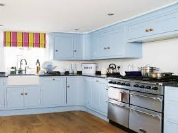 painted blue kitchen cabinets house: good paint colour for kitchen content which is listed within