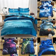 Local Shipping   <b>2Pcs</b> Beautiful Galaxy Style Pattern Soft 3D ...