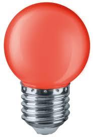 Купить <b>Лампа светодиодная Navigator</b> 71827, E27, G45, <b>1Вт</b> по ...