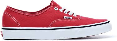 <b>Кеды Vans</b> UA Authentic, цвет: красный. VA38EMQ9U. Размер 11 ...