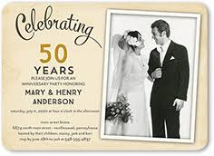 <b>Wedding Anniversary</b> Invitations | Shutterfly