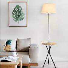 2019 Nordic Solid Wood <b>Floor</b> Lamp <b>Simple Modern</b> Vertical <b>Fishing</b> ...