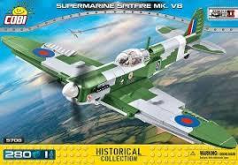"Пластиковый <b>конструктор COBI</b> ""<b>Supermarine</b> Spitfire Mk.VB ..."