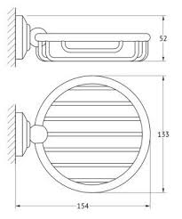 Купить <b>3SC Stilmar STI</b> 006 <b>Мыльница</b>-<b>решетка</b> хром глянцевый в ...