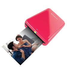 Купить портативный <b>принтер polaroid zip</b> mobile printer красный в ...