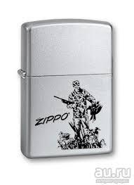 <b>Зажигалка Zippo</b> Satin Chrome Zippo <b>205 Duck Hunting</b> (MADE IN ...