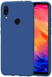 LUSHENG Xiaomi Redmi 7 Case, Solid Color ... - Amazon.com