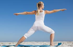 Image result for woman warrior one yoga