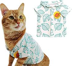 YuDanae <b>Animal</b> Tom Nook Shirt for Cat Small <b>Dog Pet Cosplay</b> ...