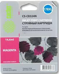 Картридж <b>Cactus CS</b>-<b>CB324N 178XL</b> пурпурный совместимый ...
