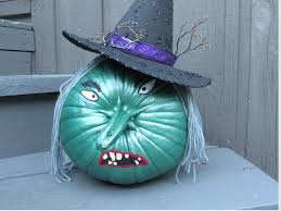 Wicked <b>Witch</b> Painted <b>Pumpkin Halloween</b> Craft - YouTube