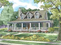 Cape Cod House With Wrap Around Porch Maverick Homes Southern        wrap around porch maverick homes   southern living ranch house plans house