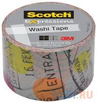 «<b>Клейкая лента</b> декоративная <b>3M Scotch</b> Washi 7000048132 ...