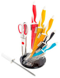 Купить <b>Набор MAYER & BOCH</b> 5 <b>ножей</b>, ножницы и мусат с ...