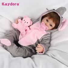 Kaydora 42cm 16 inch Vinyl <b>Silicone Reborn Baby Doll</b> Lifelike ...