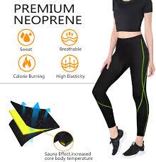 Rolewpy Women <b>Neoprene</b> Sauna <b>Slimming Pants Weight Loss</b> Hot ...