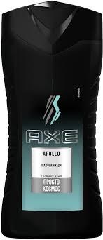 Axe Гель для душа Apollo, мужской, 250 мл — купить в интернет ...