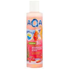 AQA baby <b>Шампунь для длинных</b> и непослушных волос — купить ...