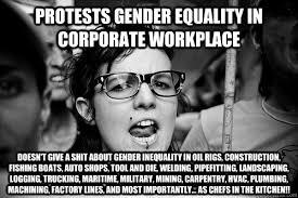 Hypocrite Feminist memes | quickmeme via Relatably.com
