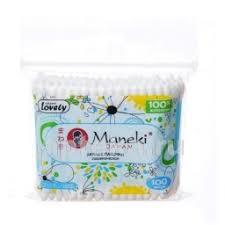 <b>Maneki lovely палочки ватные</b> с голубым стиком n100/пакет ...