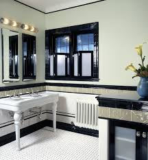 art deco designers bathroom traditional with floor tile wall sconce art deco office contemporary