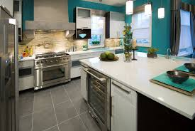 Turquoise Kitchen Light Blue Kitchen Dark Cabinets White Cabinets In Kitchen Light
