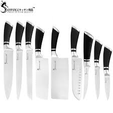 <b>SOWOLL Stainless Steel</b> Knives Set High Quality Japanese ...