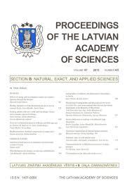 Genus Sisymbrium L. (Rockets) In The Flora Of Latvia in ...