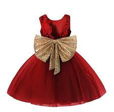 0-12 Years Baby Flower Girl Dress Wedding: Clothing - Amazon.com