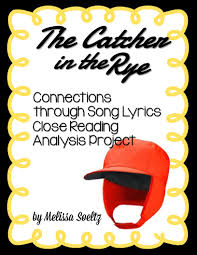 catcher in the rye connecting through song lyrics group project catcher in the rye connecting through song lyrics group project