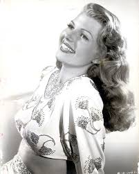 Famous face: Rita Hayworth was married five times, and has only two children, the younger of whom was Andrew Embiricos' mother - article-2070364-000EE2CD00000258-541_634x794