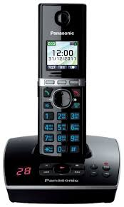 Купить Радиотелефон Panasonic KX-TG8061 черный по низкой ...