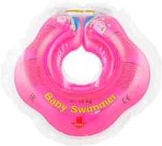 <b>Надувной круг Baby Swimmer</b> розовый (полуцвет) BS 02 P купить ...