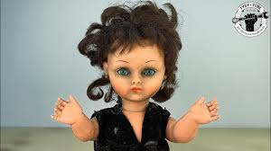 1960's <b>Vintage</b> Real Doll Restoration - With <b>new Style</b> - YouTube